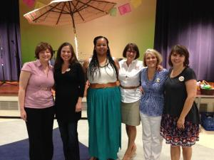 At the Girls of Summer launch with some of our favorite librarians and authors KP Madonia and Jeri Watts.
