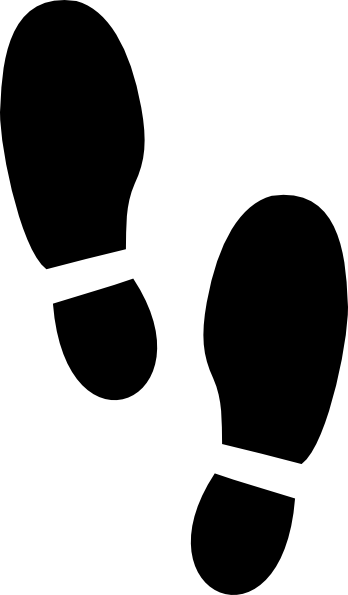 Shoe Walking Clip Art