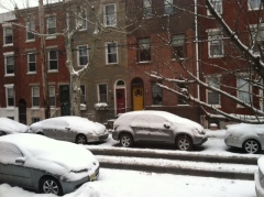 View from Casa Buona on 10th St in Philly