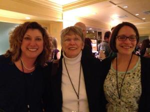 Jennifer, Ms. Lowry, and me