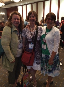 Only a small part of Candlewick's team. Megan McDonald (Judy Moody!) Mary Lee Donovan, and me