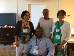 With Linda Sue Park, Sharon G. Flake, and Lamar Giles. Some wondering thinking about books, diversity, and how we can see more books about everybody