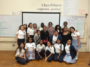 The fabulous students at Cornelia Connelley Center