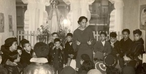 Pura Belpré storytelling at La Casita Maria community center in East Harlem