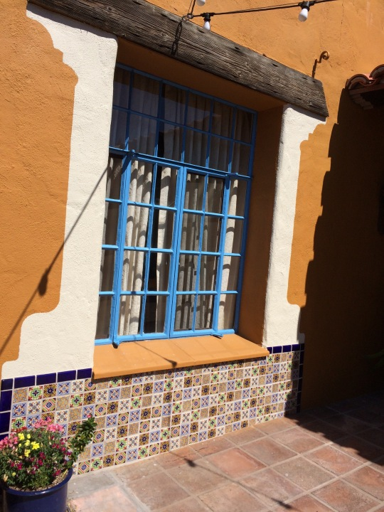 The hotel is one of the oldest in Tucson and was recently remodeled. Lots of lovely alcoves and tile work