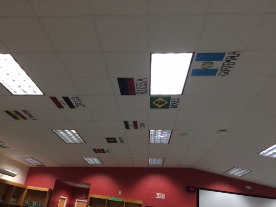 More ceiling tiles...