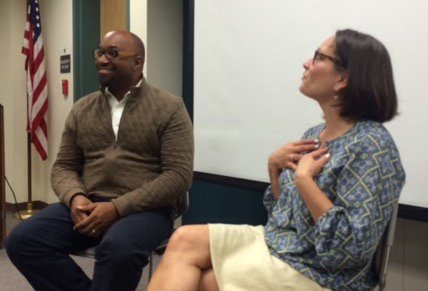 It's always a party when you get to talk with Kwame Alexander, who is basically a treasure to Virginia.