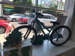 Blue trek mountain bike